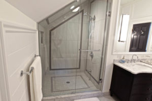 Stoney Lake Bathroom Renovation - Custom Glass Shower
