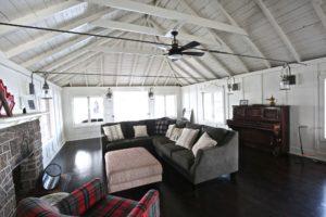 Stoney Lake cottage renovation - 2nd floor