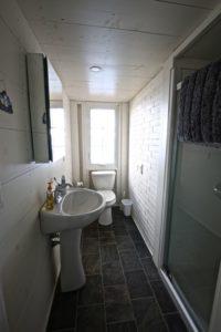 Stoney Lake cottage renovation - bathroom