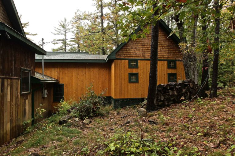 Stoney Lake island cottage renovation - bunkie addition