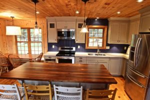 Stoney Lake island cottage renovation - kitchen 2