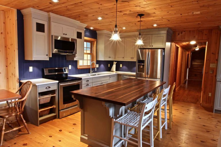 Stoney Lake island cottage renovation - kitchen