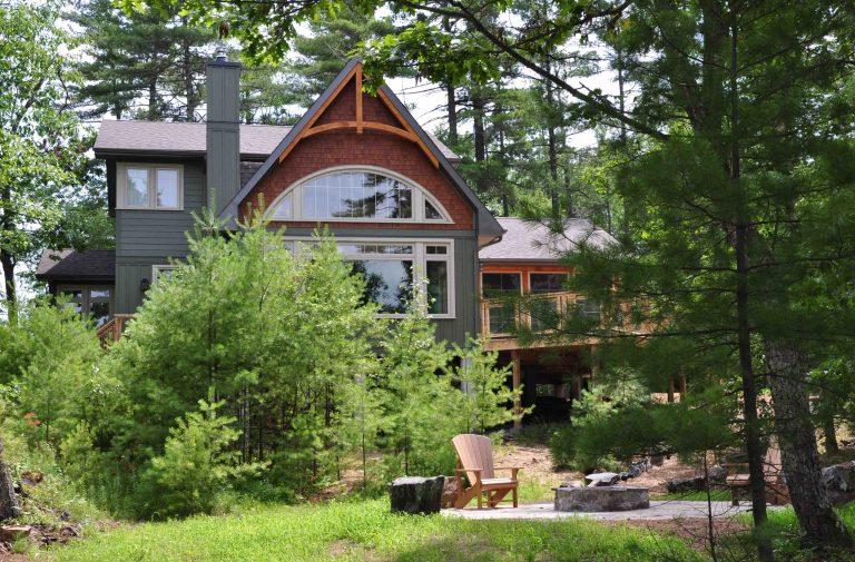 Custom Built Island Cottage - Exterior