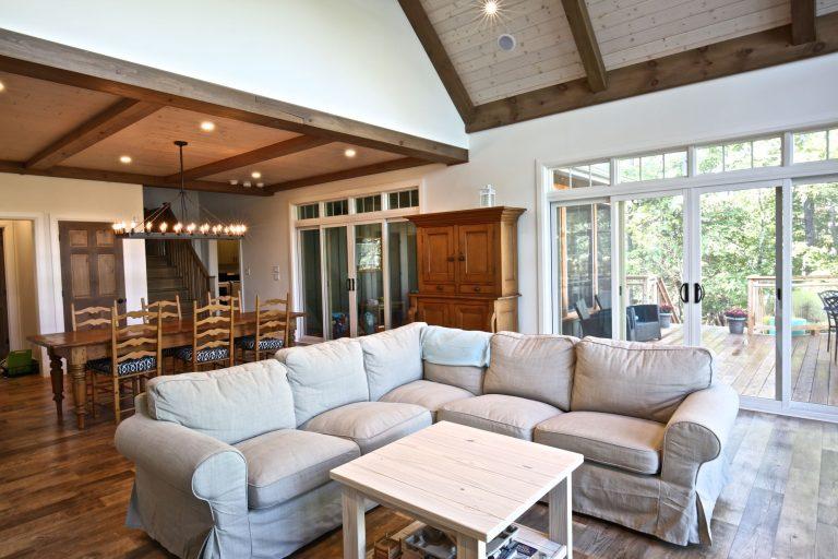 Custom Built Island Cottage - Living Room 2