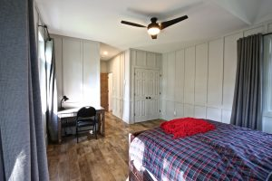 Custom Built Island Cottage - Bedroom and Closets