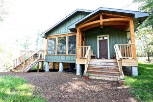 Custom Built Island Cottage - Main Entrance