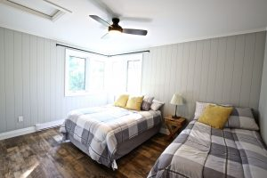 Custom Built Island Cottage - Guest Bedroom
