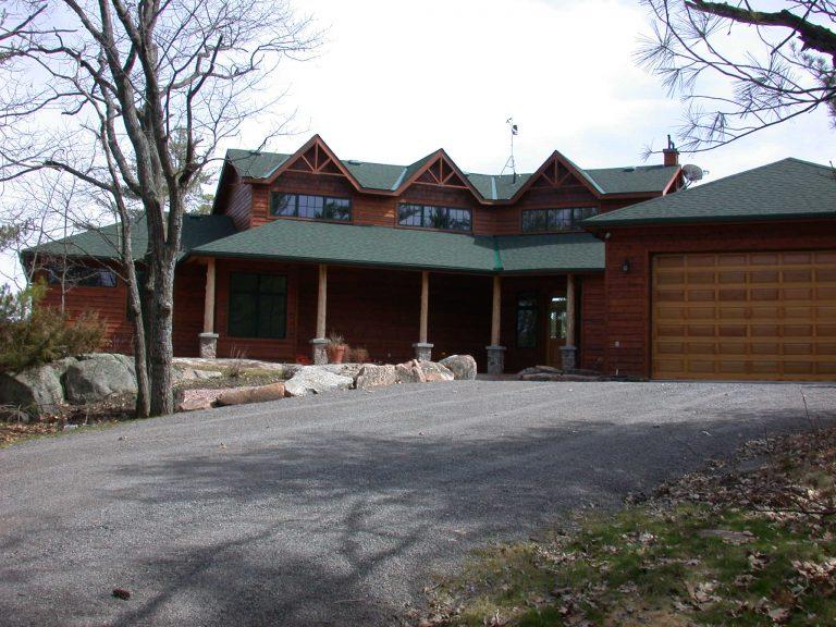 custom award winning home - exterior