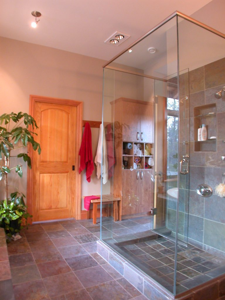 custom award winning home - bathroom