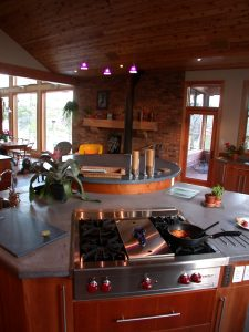 custom award winning home - living room