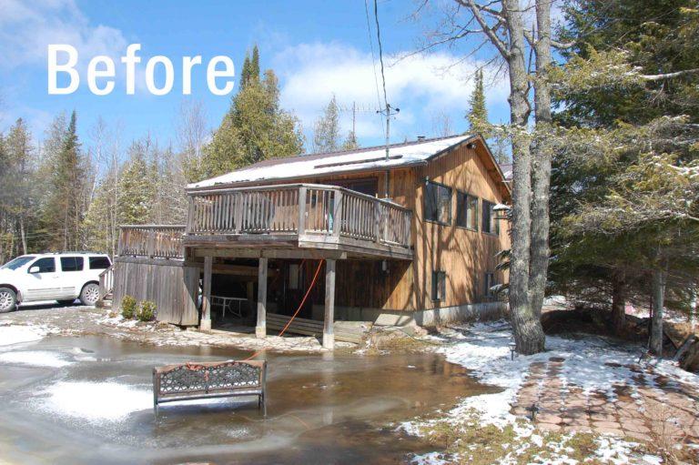 Cottage-Renovation-Big-Cedar-Lake-Before