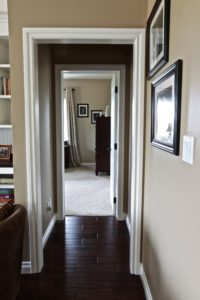 Custom Home Lakefield - Hallway
