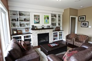 Custom Home Lakefield - Living Room