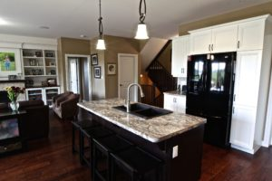 Custom Home Lakefield - Kitchen Island