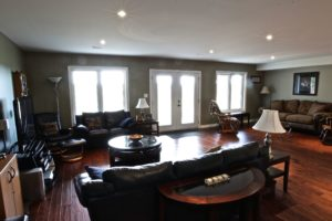 Custom Home Lakefield - Finished Basement
