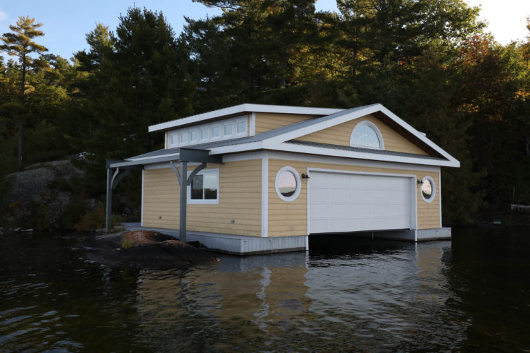 Island Boathouse Stoney Lake 2
