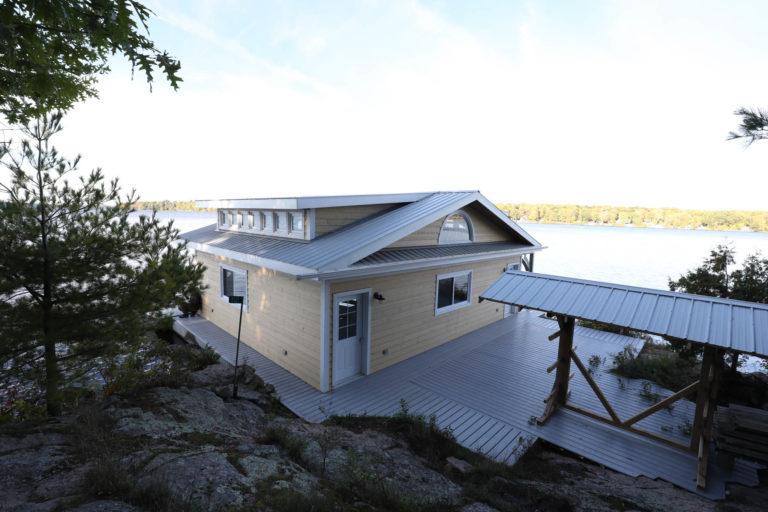 Island Boathouse Stoney Lake 5
