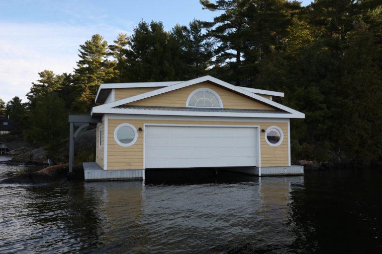 Island Boathouse Stoney Lake