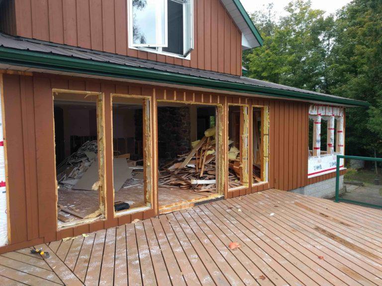 minimize waste exterior