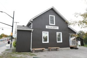 Lakefield Bakery After - Side Exterior