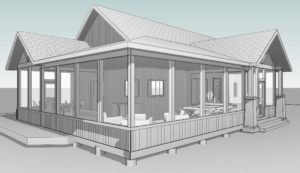 Screen Porch Concept Image