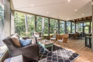 Stoney Lake Screened Porch - Interior