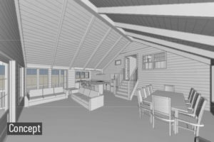Cottage Revit
