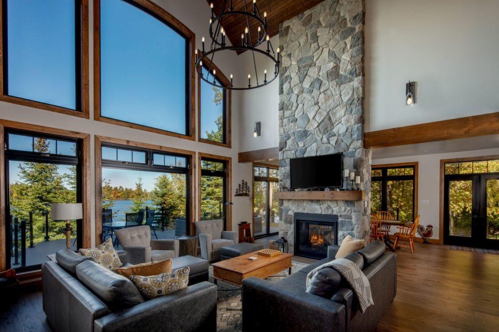 Custom Cottage Renovation - Great Room