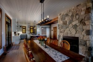 Custom Cottage Renovation - Dining