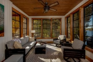 Custom Cottage Renovation - Screened Porch