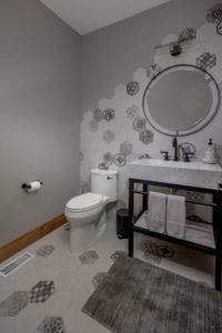 Custom Cottage Renovation - Guest Bathroom