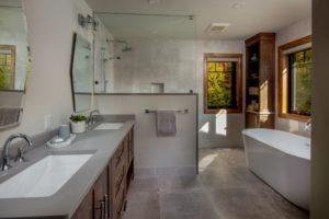 Custom Cottage Renovation - Master Bath