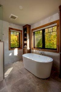 Custom Cottage Renovation - Master Bathroom