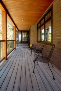 Custom Cottage Renovation - Front Porch