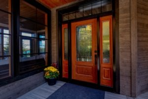 Custom Cottage Renovation - Front Entry