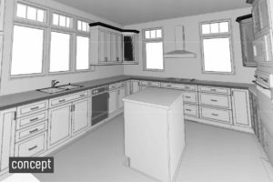 Kitchen Revit Concept