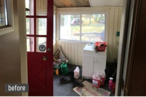 Before - Mud Room
