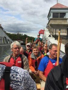 Garry on Canoe Day